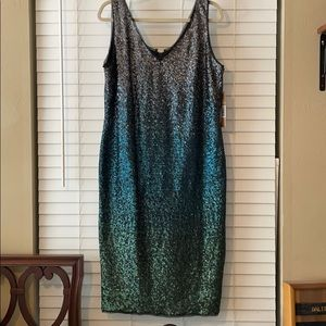 Rachel Roy sequin cocktail dress